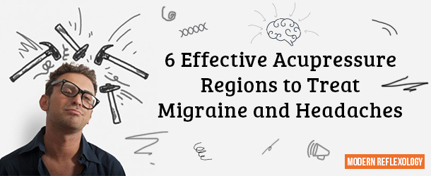 pressure points for migraines
