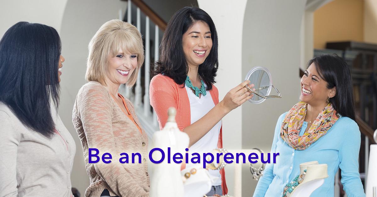 Become an Oleiapreneur
