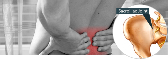 The sacroiliac joints act kind of like conductors by moving the force or  pressure of the body. It also gives you the stability you need for movement.