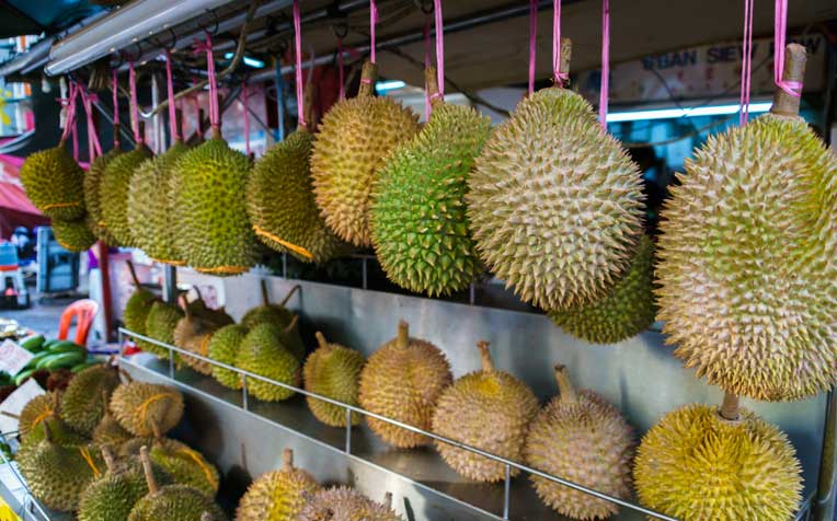 The Sweet Scent Behind the Durian Smell