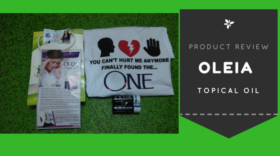 Product Review: Oleia Topical Oil