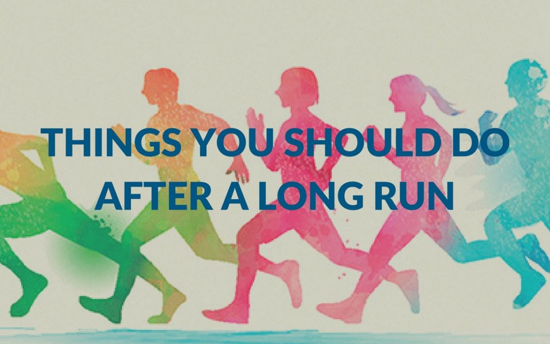 Things You Should Do After A Long Run