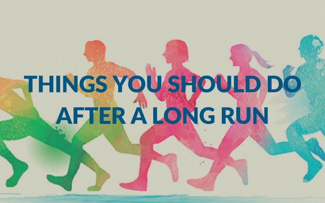 Things You Should Do After A Long Run