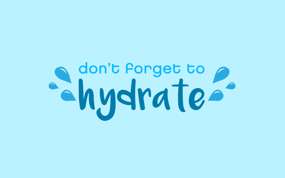 Let's Stay Hydrated!