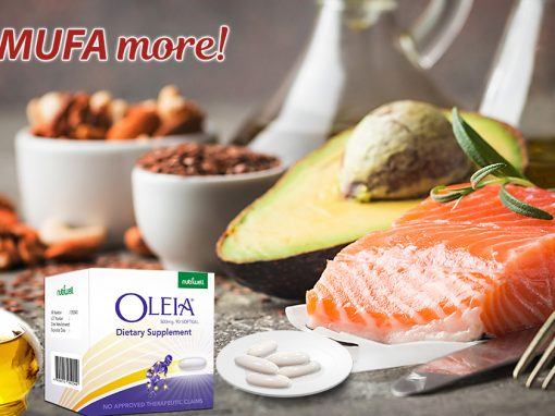 Stay Healthy. MUFA More!